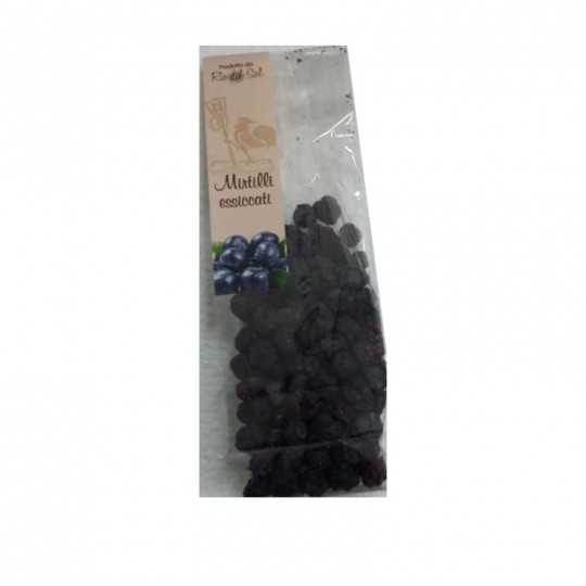 Blueberries dried - pack of 250 gr