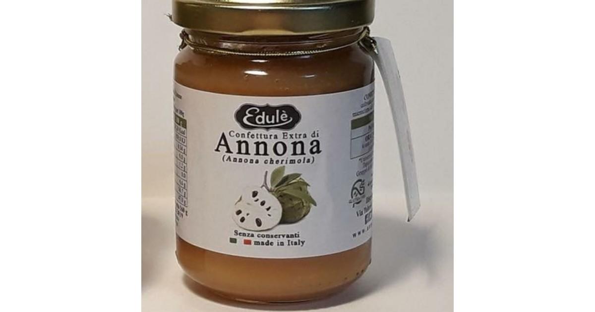 Confettura Extra di Annona di Calabria. Acquista online su FruttaWeb.com