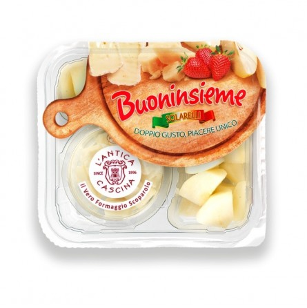 Buoninsieme: Pera e Formaggio Scoparolo acquista online su FruttaWeb.com