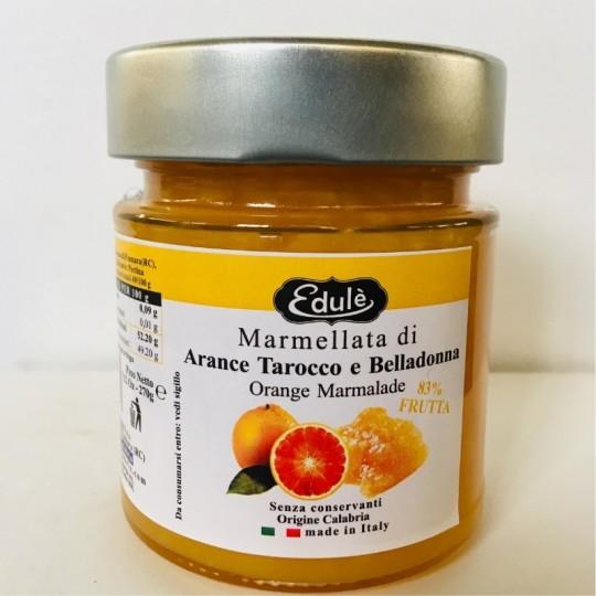 Marmellata di Arance Tarocco e Belladonna. Acquista Online con un Click