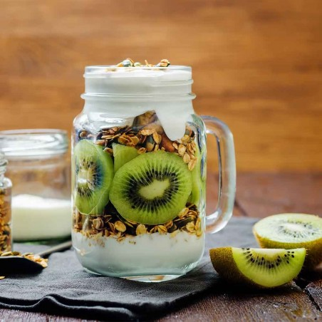 Mix di cereali, yogurt e Kiwi Hayward