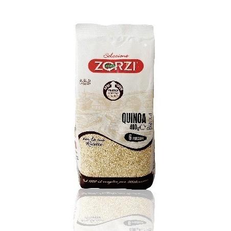 """Quinoa bianca """"Zorzi"""" - 400 gr - Origine Italia"""