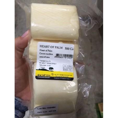 Palmito fresco (Cuore di Palma) - 1 kg - Origine Thailandia