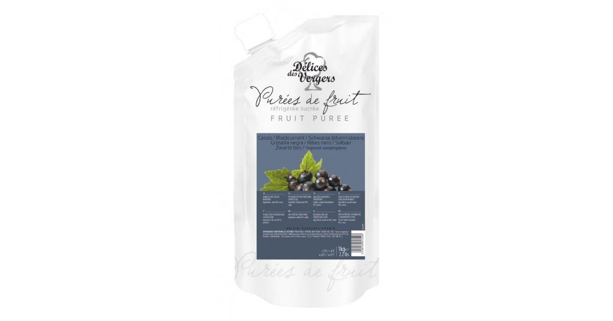 Purea naturale di Ribes neri