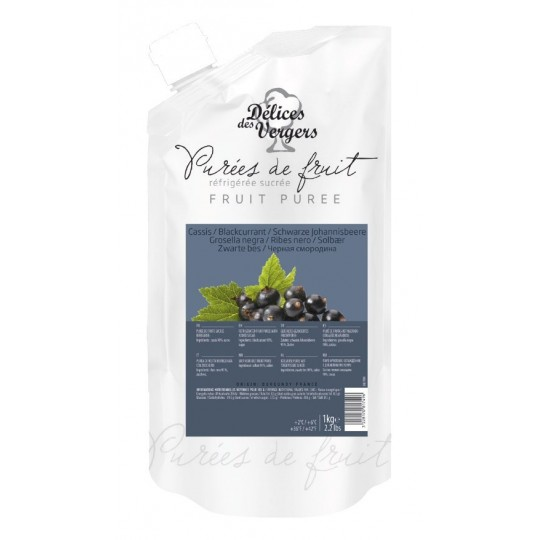 Black currant natural pulp
