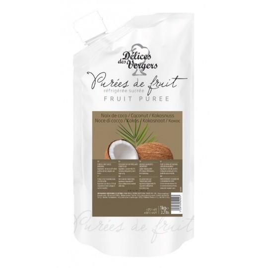 Natural coco pulp