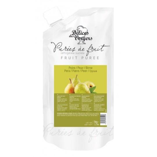 Natural pear pulp