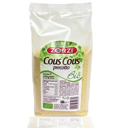 Organic cous cous 500 gr