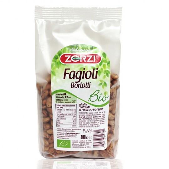 Organic beans Borlotti 400 gr