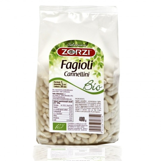 Organic beans Cannellini 400 gr