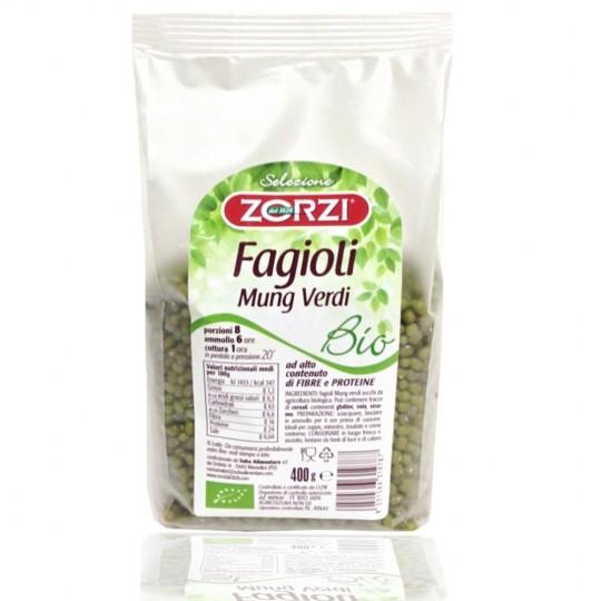 """Organic beans Mung """"Zorzi"""" 400 gr"""