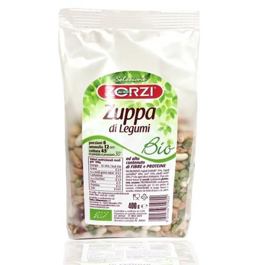 """Bio zuppa di legumi """"Zorzi"""" 400 gr"""