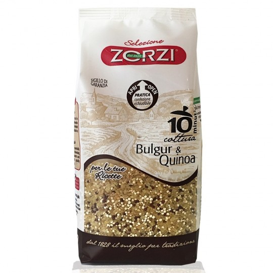 "Bulgur and quinoa ""Zorzi"" 400 gr"