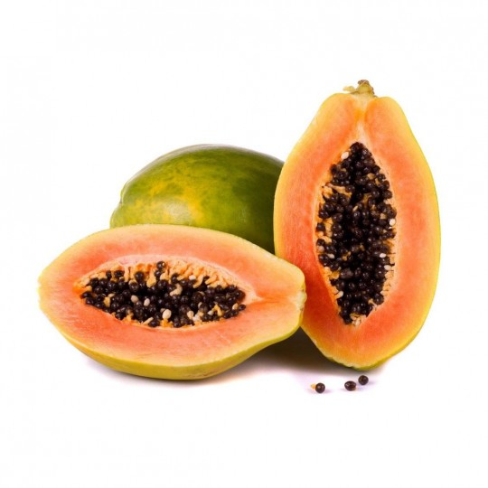 Papaya fresca via aerea