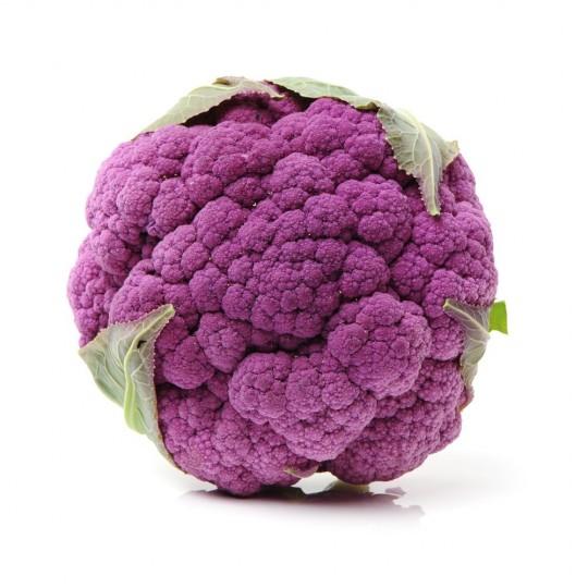Violet cauliflower - 1 piece - Origin France