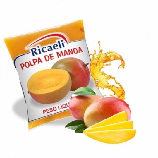 Mango Purea Surgelata 40 Buste Mono-Dose da 100 g