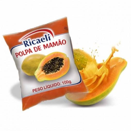 Papaya Purea Surgelata 40 Buste Mono-Dose da 100 g