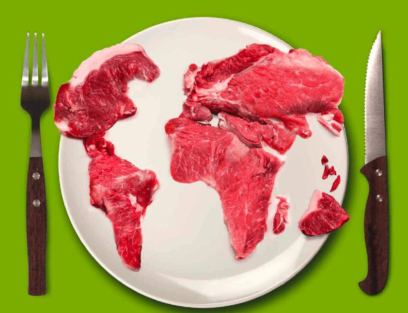 gli effetti dell carne nel mondo