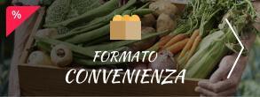 Formato Convenienza su Frutta e Verdura