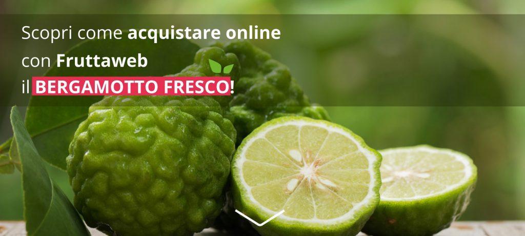 come acquistare online il bergamotto fresco