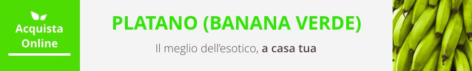 platano verde acquista online fruttaweb