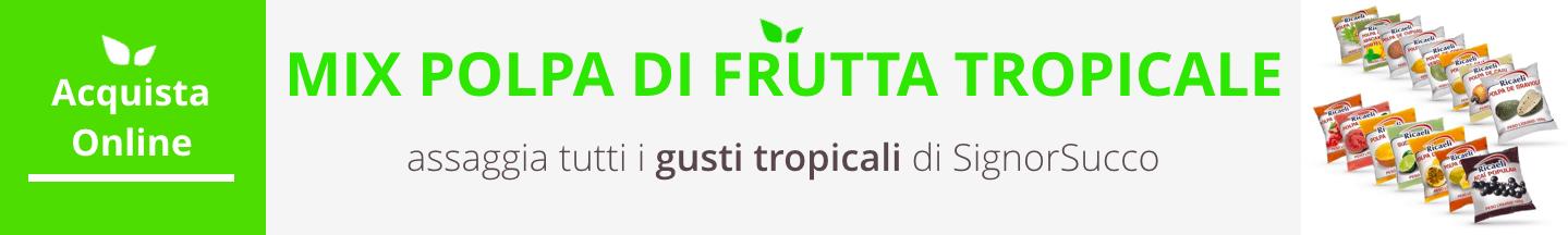 mix polpa tropicale acquista online fruttaweb