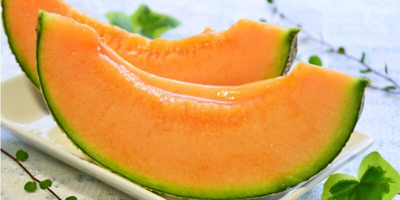 fette melone fresco