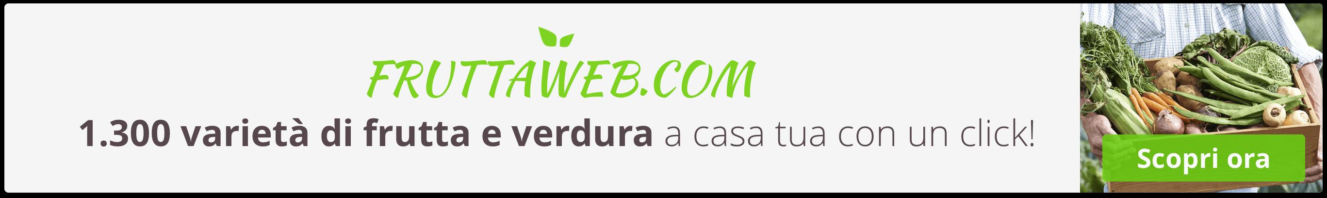 Acquista Online frutta e verdura fresca di qualità con un Click su FruttaWeb.com
