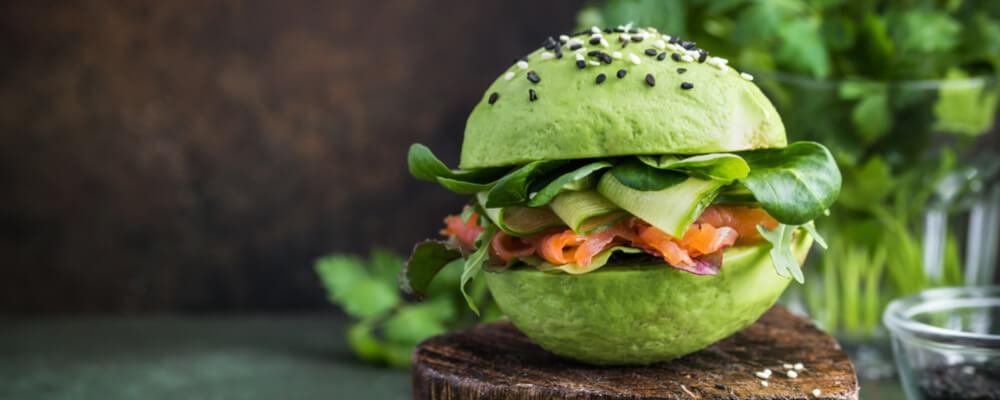 ricetta avocado burger