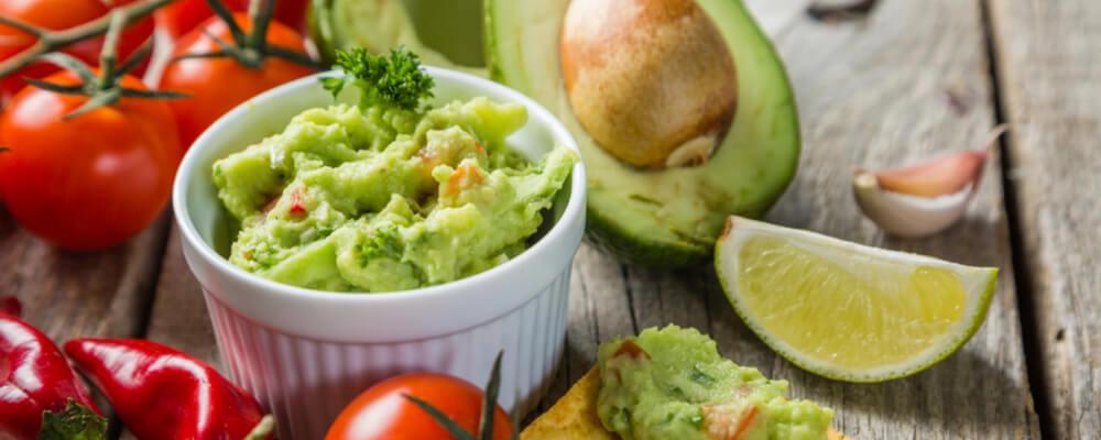 avocado guacamole ricetta