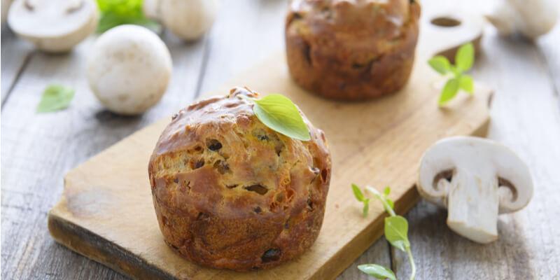 muffin di funghi