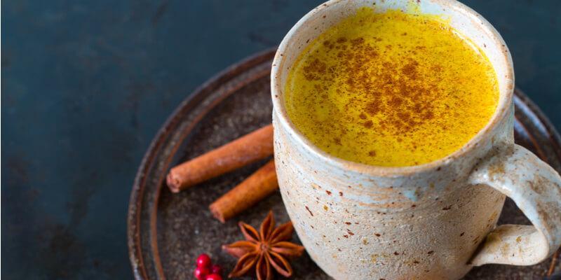 curcuma golden milk turmeric
