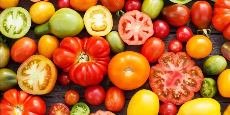 pomodori verdura estiva