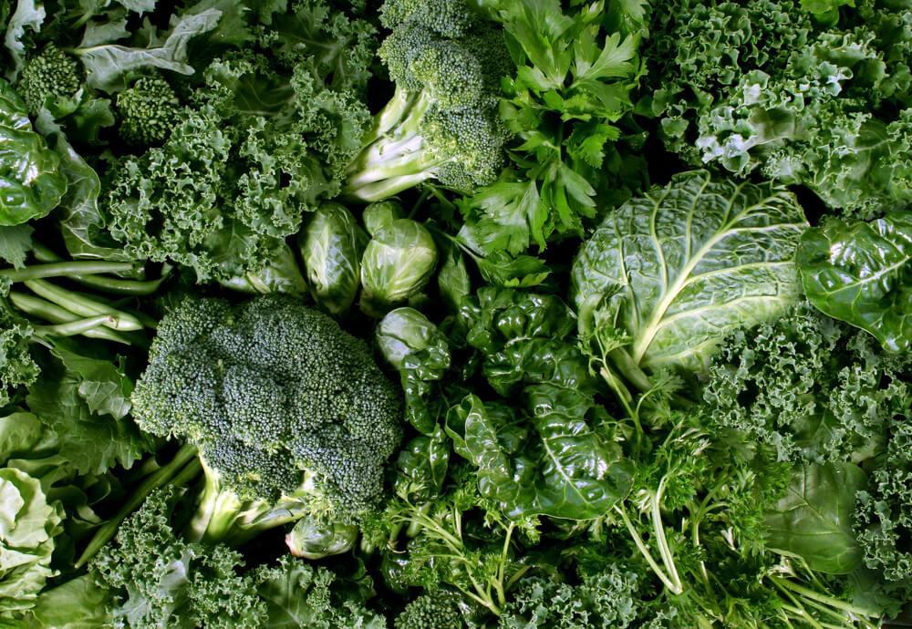 Verdura e Ortaggi a Foglia Verde