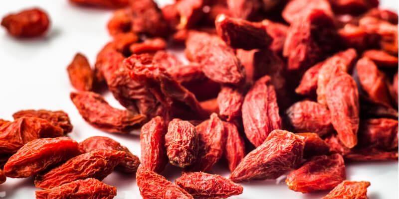 bacche di goji antiossidanti