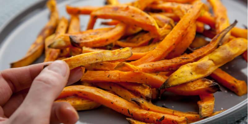 Come cucinare le patate dolci 5 ricette light blog di for Cucinare branzino 5 kg