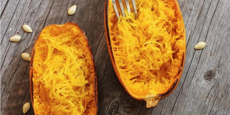 spaghetti pumpkin