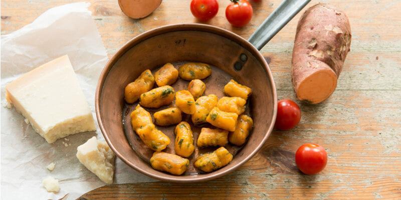 gnocchi di patata dolci