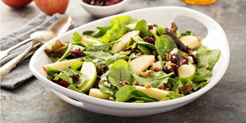 insalata di sedano e avocado