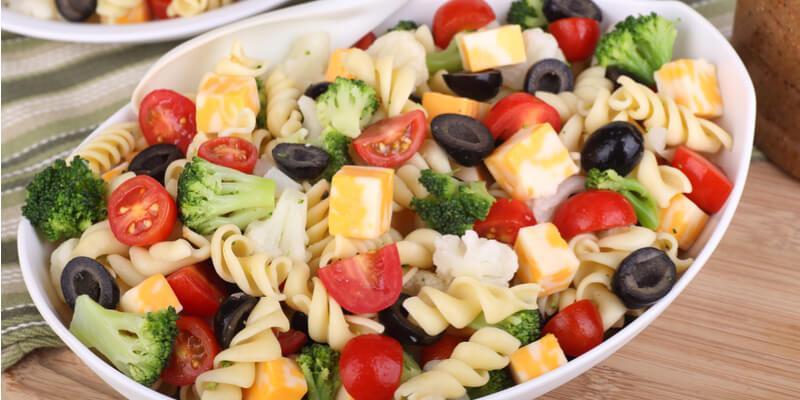 insalata di pasta fresca