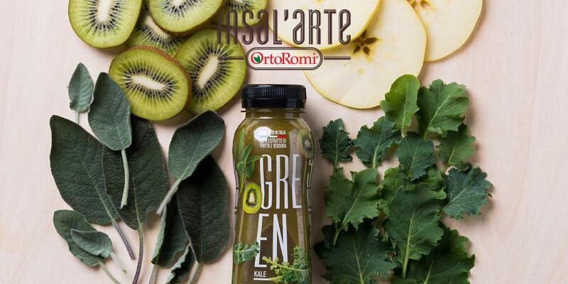 estratto di frutta e verdura insalarte