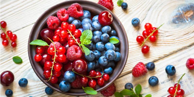 frutta rossa mista