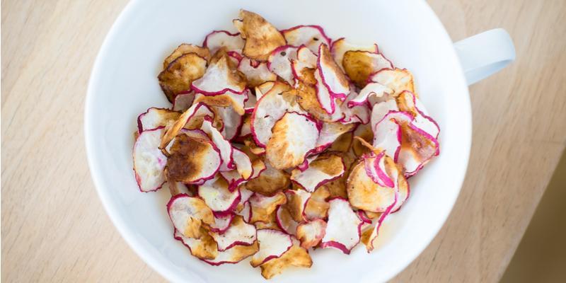 patatine di ravanello