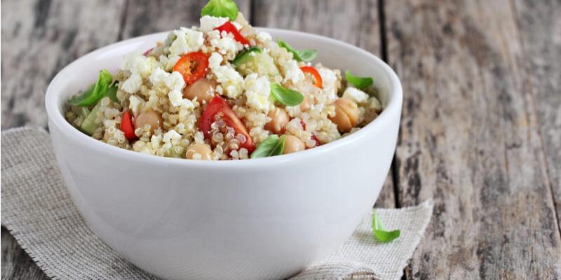 insalata caprese di quinoa