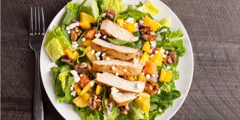 insalata di pollo ricetta facile e veloce