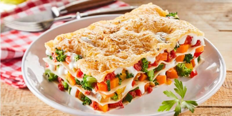 lasagnetta di verdure estive