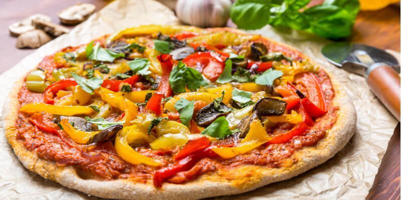 Ricetta Impasto Pizza Vegana.Pizza Vegetariana 5 Ricette Fruttaweb