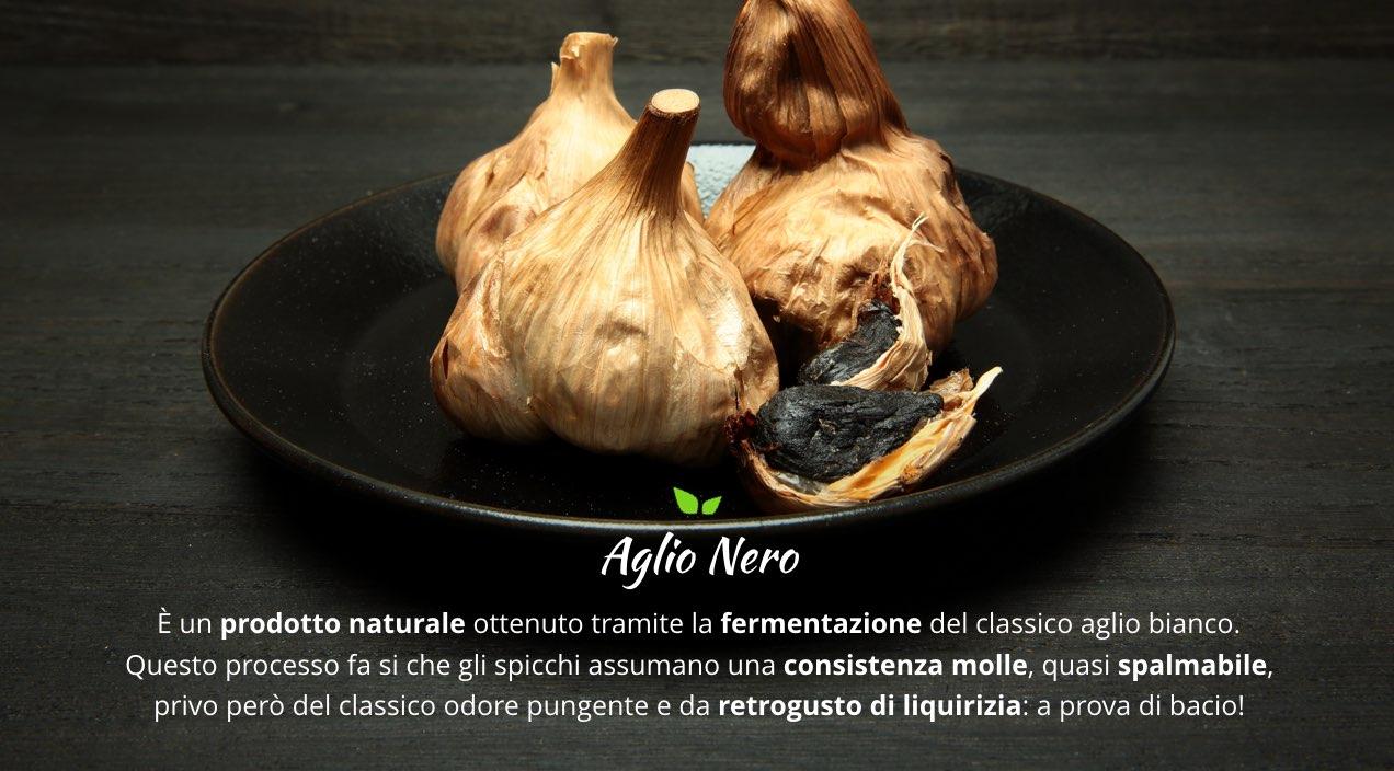 Acquista online Aglio Nero su FruttaWeb.com
