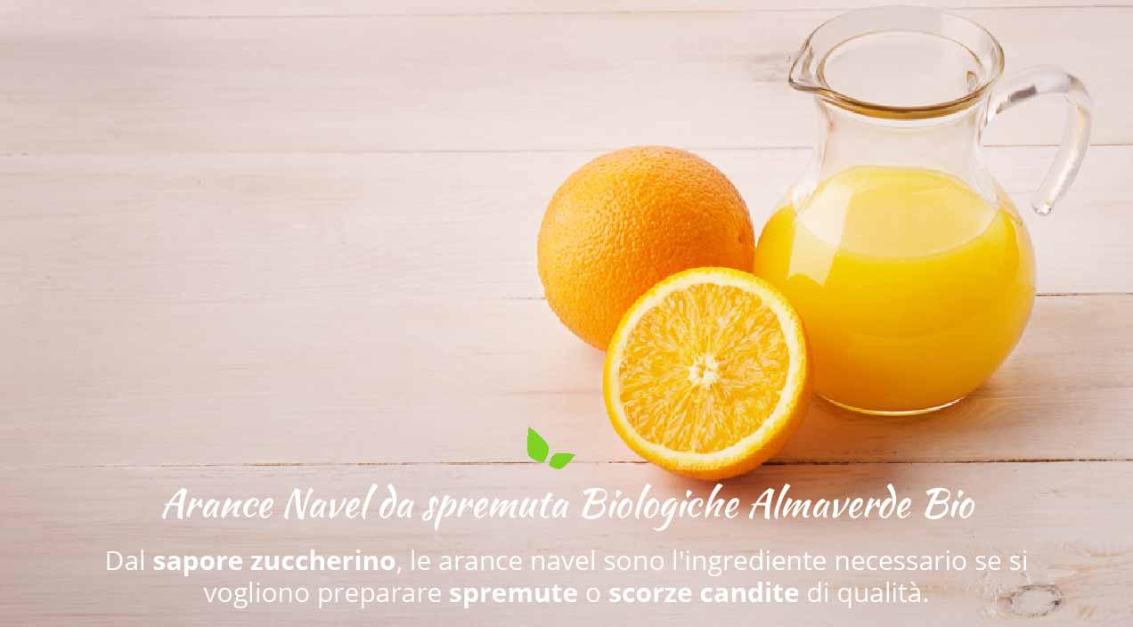 Arance Navel da Spremuta Biologiche varietà e ricette