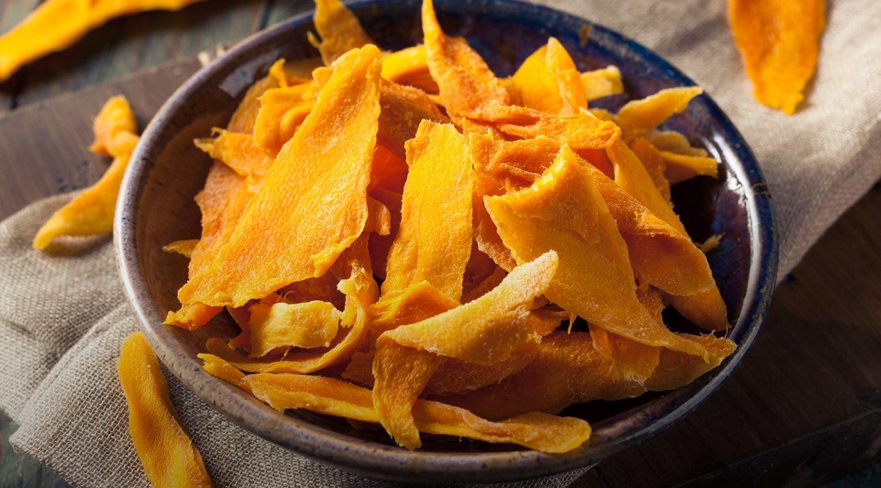 Mango Disidratato senza Zucchero: scopri questa nuova linea di prodotti genuini per la tua linea
